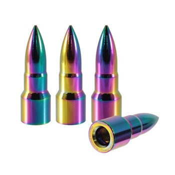True Spike Lug Nut Caps - Bullet - 16mm / 51 mm