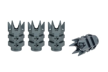 True Spike Lug Nut Caps - Muzzle - 20 mm / 51 mm