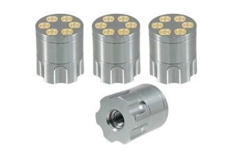 True Spike Lug Nut Caps - Revolver - 25 mm / 30 mm