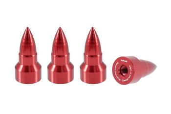 True Spike Lug Nut Caps - Bullet - 25 mm / 51 mm