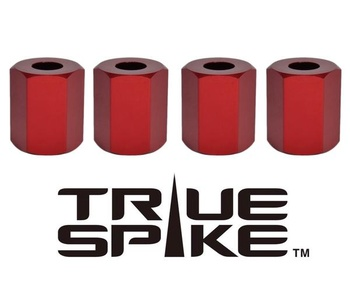 True Spike Lug Nut Sleeve Covers - 41 mm - Hexagonal