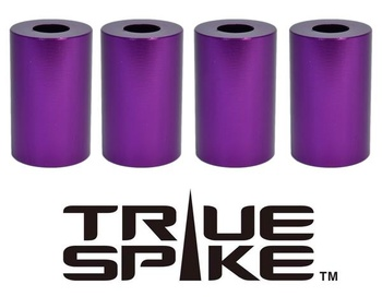 True Spike Lug Nut Sleeve Covers - 51 mm - Round