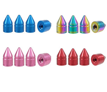 True Spike Lug Nut Caps - Apollo - 20 mm / 30 mm