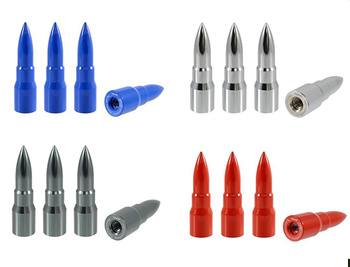 True Spike Lug Nut Caps - Bullet - 20 mm / 73 mm