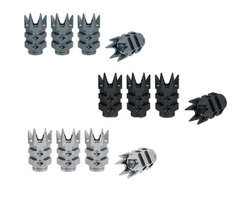 True Spike Lug Nut Caps - Muzzle Style 2 - 20 mm / 51 mm
