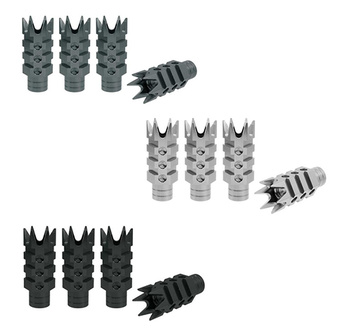 True Spike Lug Nut Caps - Muzzle Style 2 - 20 mm / 73 mm