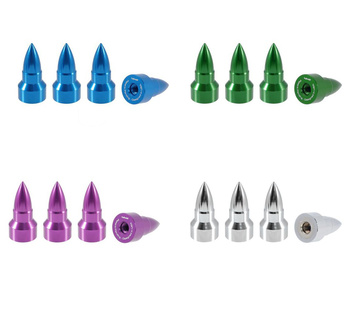 True Spike Lug Nut Caps / Kåpor - Bullet-style - 25 mm / 51 mm