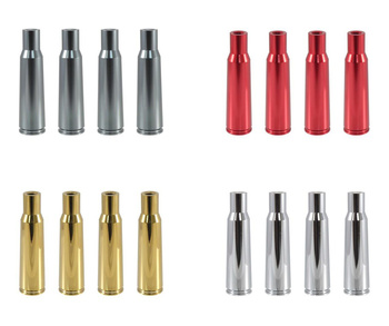 True Spike Lug Nut Caps - Bullet Casing - 25 mm / 136 mm