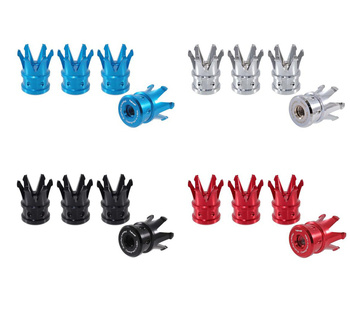 True Spike Lug Nut Caps - Crown - 25 mm / 37 mm