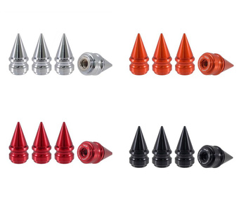 True Spike Lug Nut Caps - Ribbed - 25 mm / 51 mm