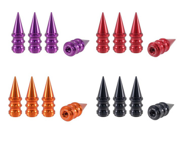 True Spike Lug Nut Caps - Ribbed - 25 mm / 73 mm