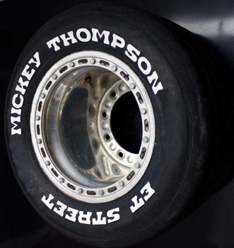 Däcktext Mickey Thompson ET Street